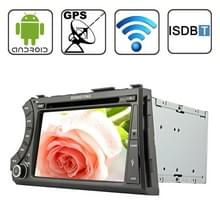 Rungrace 7.0 inch Android 4.2 Multi-Touch Capacitieve Screen In-Dash Car DVD Player voor Ssangyong Acyton Kyron met WiFi / GPS / RDS / IPOD / Bluetooth / ISDB-T