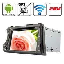 Rungrace 7.0 inch Android 4.2 Multi-Touch Capacitieve Screen In-Dash Car DVD Player voor Ssangyong Acyton Kyron met WiFi / GPS / RDS / IPOD / Bluetooth / ATV