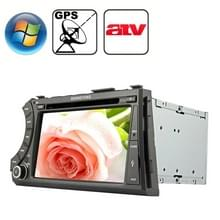 Rungrace 7.0 inch Windows CE 6.0 TFT Screen In-Dash Car DVD Player voor Ssangyong Acyton Kyron met Bluetooth / GPS / RDS / ATV