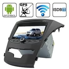 Rungrace 7.0 inch Android 4.2 Multi-Touch Capacitieve Screen In-Dash Car DVD Player voor Ssangyong Korando met WiFi / GPS / RDS / IPOD / Bluetooth / ISDB-T