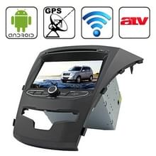 Rungrace 7.0 inch Android 4.2 Multi-Touch Capacitieve Screen In-Dash Car DVD Player voor Ssangyong Korando met WiFi / GPS / RDS / IPOD / Bluetooth / ATV