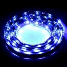 1.7 w blauw licht 60 LED 3528 SMD waterdichte flexibele auto strip licht  DC 12V  lengte: 1M