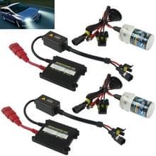 35W 2x H4 slim HID Xenon licht  hoge intensiteit Ontladings lamp  kleurtemperatuur: 8000K