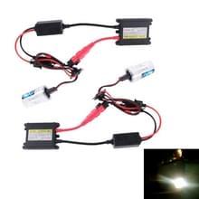 35W 2x H11 slim HID Xenon licht  hoge intensiteit Ontladings lamp  kleurtemperatuur: 6000K