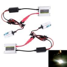 DC12V 35W 2x H1 HID slim Xenon licht  hoge intensiteit Ontladings lamp  kleurtemperatuur: 6000K