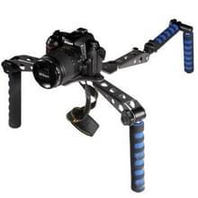 multi-functie schouder rig voor dslr camera 's