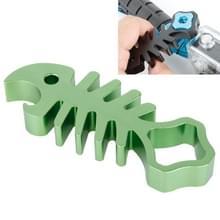TMC Fishbone Style Aluminium Tighten Wrench Nut Spanner Thumb schroeven Tool voor GoPro Hero 4 / 3+ / 3 / 2 / 1(groen)