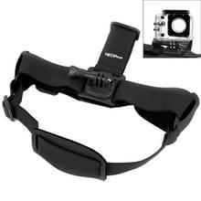NEOpine GHS-2 verstelbaar actie vaste kop camerariem voor GoPro HERO4 /3+ /3 /2 /1  Xiaomi Yi Sport Camera(zwart)