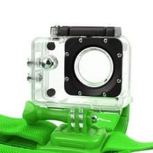 NEOpine GHS-2 verstelbaar actie vaste kop camerariem voor GoPro HERO4 /3+ /3 /2 /1  Xiaomi Yi Sport Camera(groen)