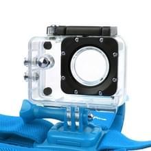 NEOpine GHS-2 verstelbaar actie vaste kop camerariem voor GoPro HERO4 /3+ /3 /2 /1  Xiaomi Yi Sport Camera(blauw)