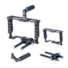 YELANGU YLG0107E-A DSLR Camera Kooi Stabilisator / Top Handgreep Set