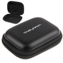 Carbon Fiber waterdichte draagbaar koffertje voor GoPro nieuwe held / HERO 6 / sessie 5 /5 /4 /3+/3 /2 /1  grootte: 9 cm x 7cm(Black)