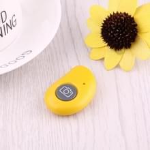 Bluetooth Foto Remote Shutter voor  iPhone  Samsung  Huawei  Xiaomi  LG  HTC en andere Smartphones (geel)