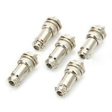 16mm 2-Pin GX16 Aviation Plug Socket Connector (5 Pcs in One Package  the Price is for 5 Pcs)(Silver)