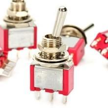 5 Stück DIY 3-pins-tuimelschakelaar