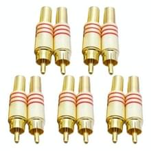JL0924 3.5mm RCA aansluiting van Connector (10 PC's in één pakket  de prijs is voor 10 stuks)