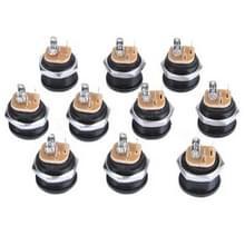 2.5mm Jack aansluiting voor gelijkstroom (10 PC's in één pakket  de prijs is voor 10 stuks)