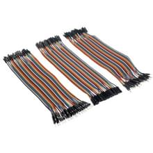40 PCs Breadboard Male to Male / Male to Female / Female to Female Jumper Cable (120 PCs per package)