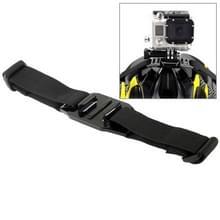ST-04 Vented helm Strap Mount Adapter voor GoPro Hero 4 / 3 + / 3 / 2 / 1(zwart)