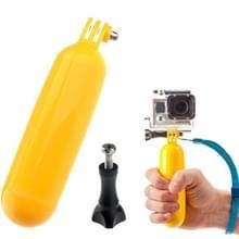ST-76 duiken drijfvermogen zelf Arm zelf Camera behandelen Paalbevestiging voor GoPro HERO4 / 3 + / 3 / 2 / 1(geel)