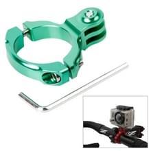 TMC aluminium Handle Bar Standaard stuurhouder voor GoPro Hero 4 / 3 + / 3 / 2 / 1  inwendige Diameter: 31.8mm(groen)