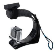 TMC Self-portrait Handheld Grip Mount voor GoPro Hero4 / 3+ / 3 / 2 / 1  Xiaomi Yi Sport Camera  SJ4000
