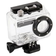 Zijde Opening huisvesting beschermings hoesje voor GoPro HERO2 Camera (Zwart + Transparant)