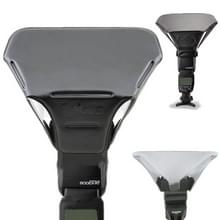 FB-20 universeel camera bovenste flits licht speedlite bounce focus flash diffuser(zwart)