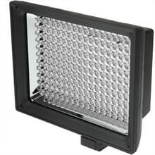 LED-187A 187 LED Videolamp voor Camera / Video Camcorder en 7.4V 4400mAh Sony NP-F770 Li-ion Batterij & met Soft Sheets & een geel Filter (zwart)
