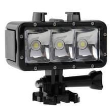 30M Waterdicht Video licht 3 modi zaklamp met basis Mount & schroeven voor GoPro HERO4 sessie /4 /3+/3 /2 /1  Dazzne  XiaoYi Camera