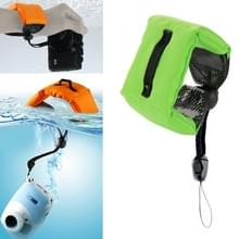 Onderdompelbare drijvende Bobber Hand polsband voor GoPro Hero 4 / 3 + / 3 / 2 / 1 / Powershot / D20 / D30 / Mini Camcorder SJ4000(groen)
