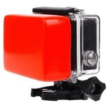 Achterdeur Floaty spons met 3M Sticker voor GoPro HERO4 /3+ /3/2 /1(rood)