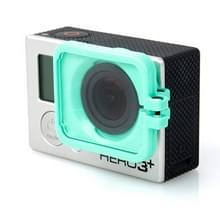 TMC Lens anti-blootstelling beschermings kap voor GoPro Hero 4 / 3+(groen)