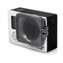TMC Lens anti-blootstelling beschermings kap voor GoPro Hero 4 / 3+(grijs)