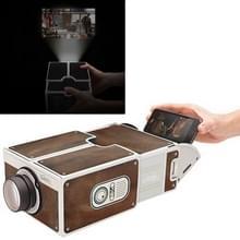 Kartonnen Smartphone Projector 2.0 / DIY mobiele telefoon Projector Portable Cinema