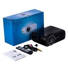 Uhappy U80 Portable Home Theater 1080P LED HD Mini digitale Projector  ondersteuning voor HDMI  VGA  USB(Black)