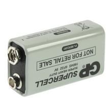 9V 6F22 1604D heavy-duty batterij voor camera's / speelgoed / elektronische apparaten