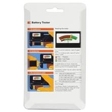 Universal Battery Tester for 1.5V AAA  AA and 9V 6F22 Batteries
