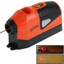 Laser Straight niveau meter (oranje)