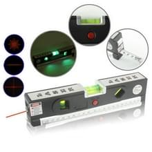 Laser niveau met meetlint Pro 4 (100cm) / niveau van bubbels met LED licht  LV-04