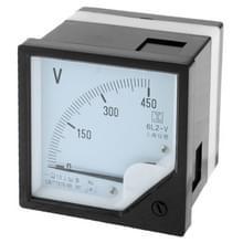 6L 2 450V Panel AC Voltmeter