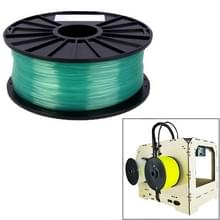 PLA 1.75 mm Transparent 3D Printer Filaments(Green)