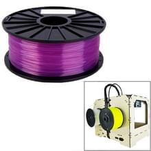 PLA 1 75 mm transparant 3D-Printer Filaments(Purple)