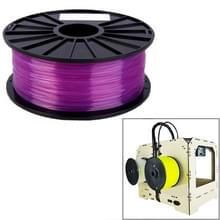 PLA 1 75 mm transparant 3D-Printer Filaments(Purple)
