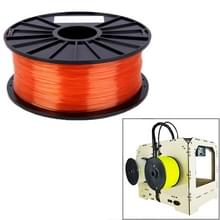 PLA 1 75 mm transparant 3D-Printer Filaments(Red)