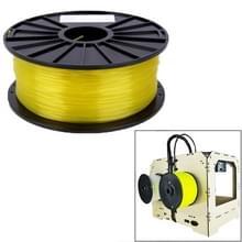 PLA 1.75 mm Transparent 3D Printer Filaments(Yellow)