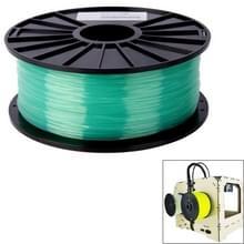 PLA 3.0 mm Transparent 3D Printer Filaments  about 115m(Green)
