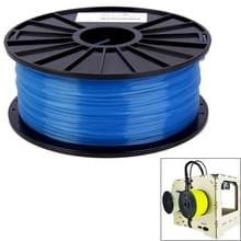 PLA 3.0 mm transparant 3D Printer filamenten  over 115m(Blue)