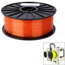 PLA 3.0 mm transparant 3D Printer filamenten  over 115m(Red)