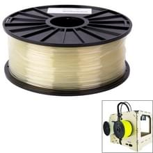 PLA 3.0 mm transparant 3D Printer filamenten  over 115m(Transparent)